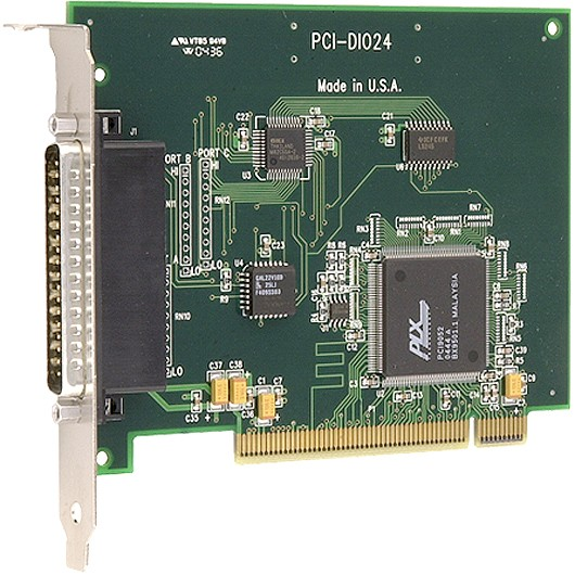 24-channel PCI-bus compatible, logic-lev